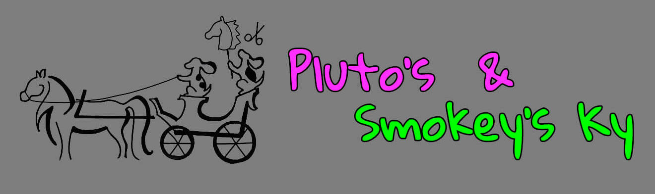 Pluto's & Smokey's Ky Logo